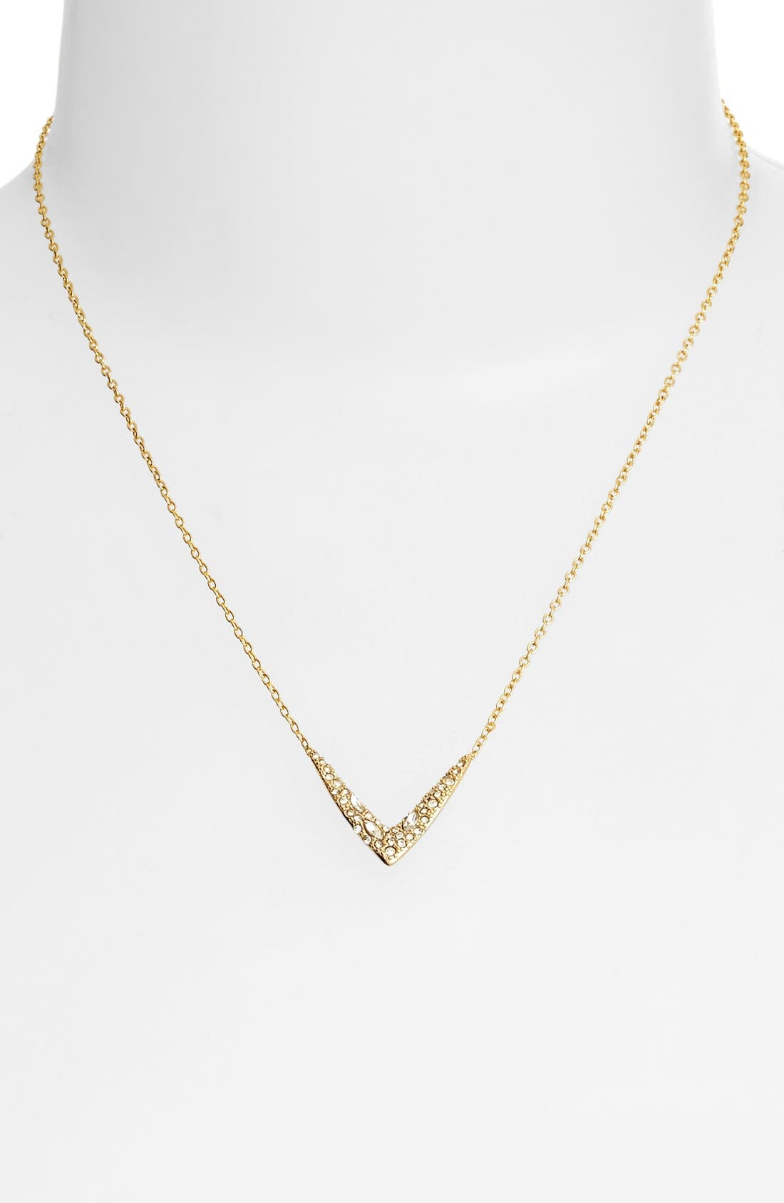 Alternate Image 2  - Alexis Bittar 'Miss Havisham' Encrusted V Pendant Necklace