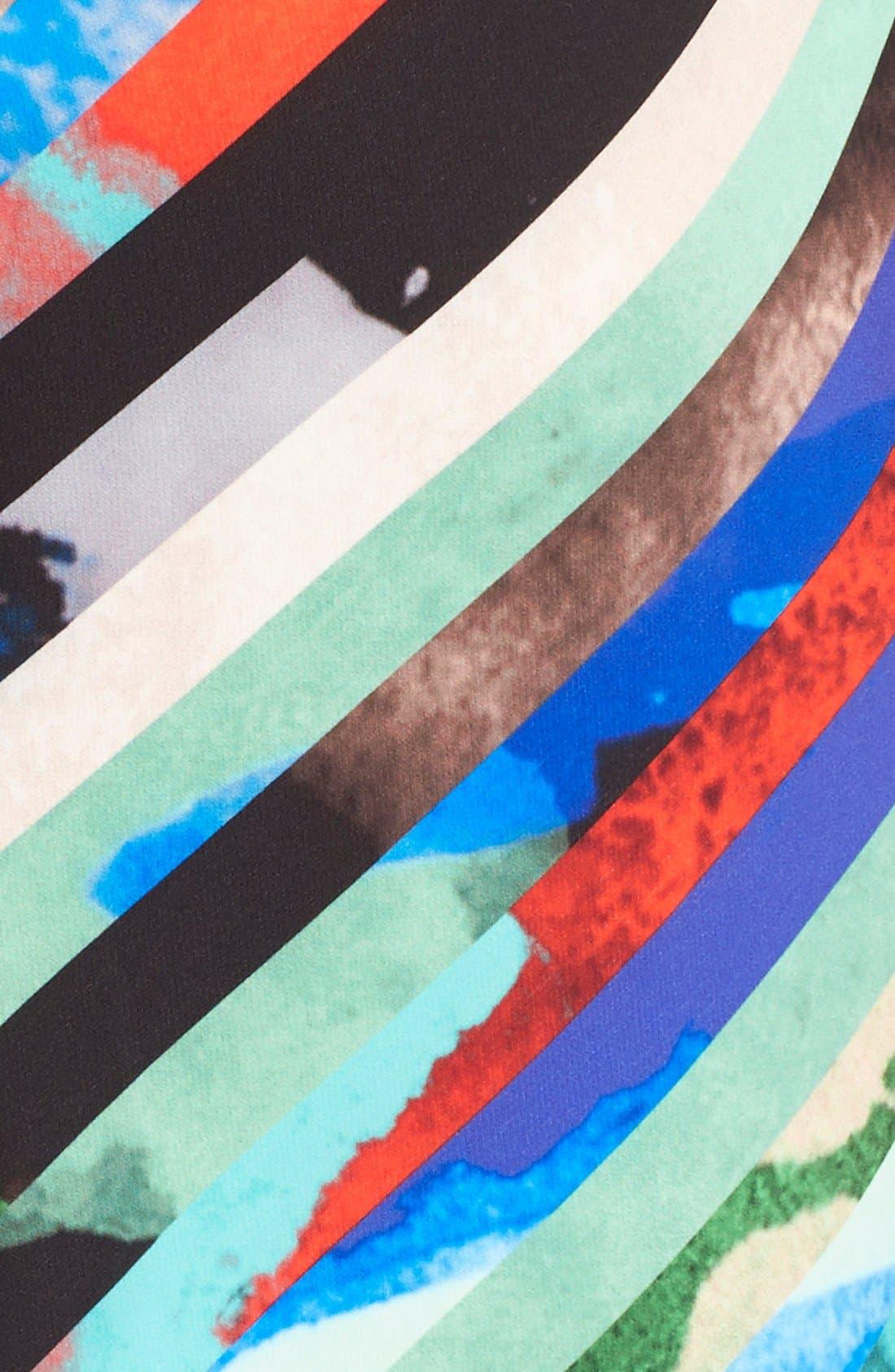 Alternate Image 6  - Milly 'Mirage Stripe' Pencil Skirt