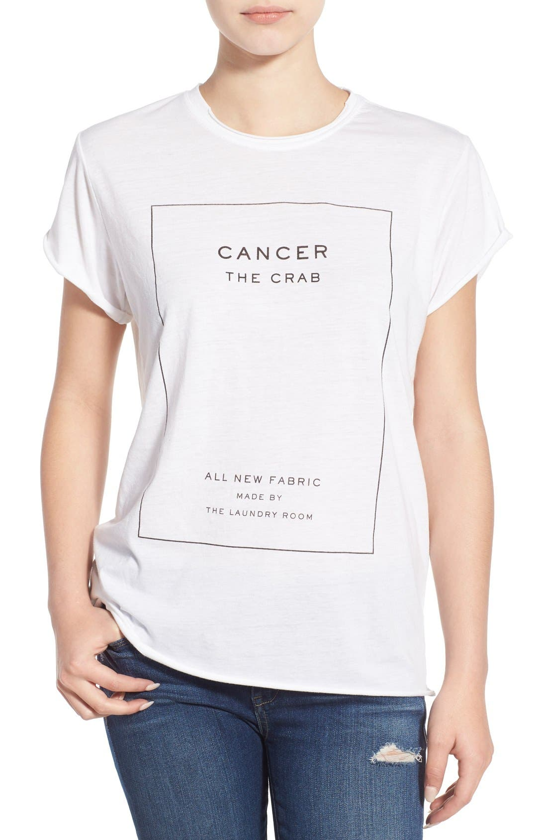 Alternate Image 1 Selected - The Laundry Room 'Cancer' Tee