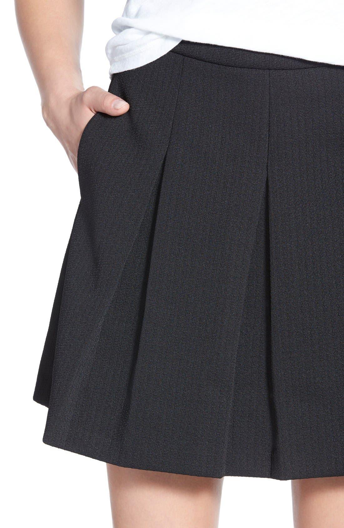 Alternate Image 5  - Madewell Jacquard Pleat Skirt