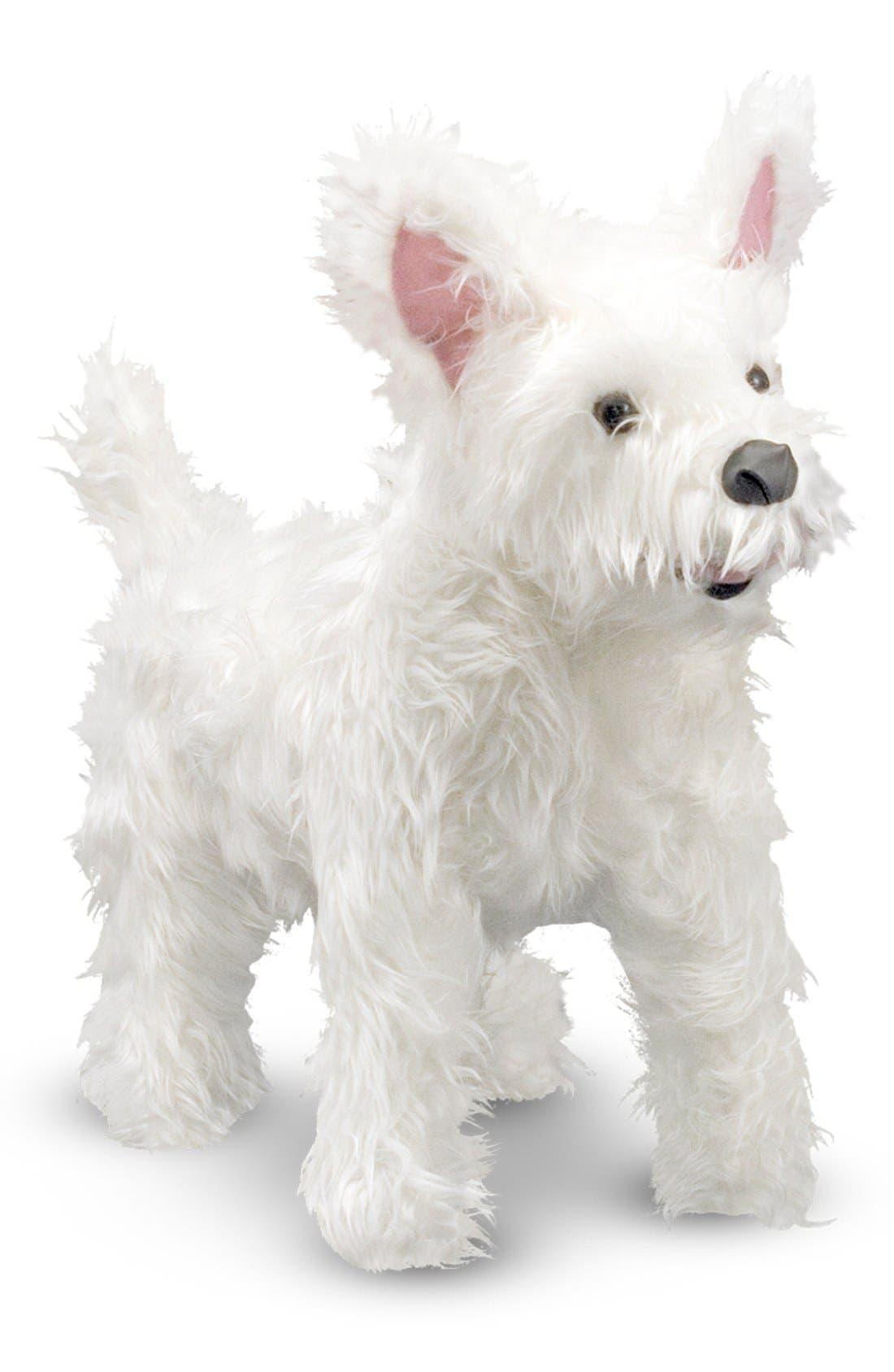 MELISSA & DOUG Oversized West Highland Terrier