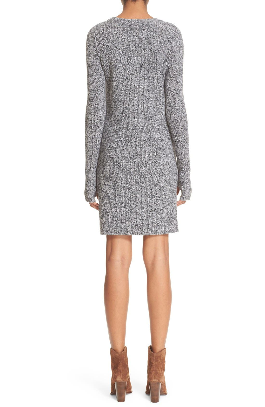 Alternate Image 2  - Current/Elliott 'The Easy Sweater' Wool & Cashmere Sweater Dress