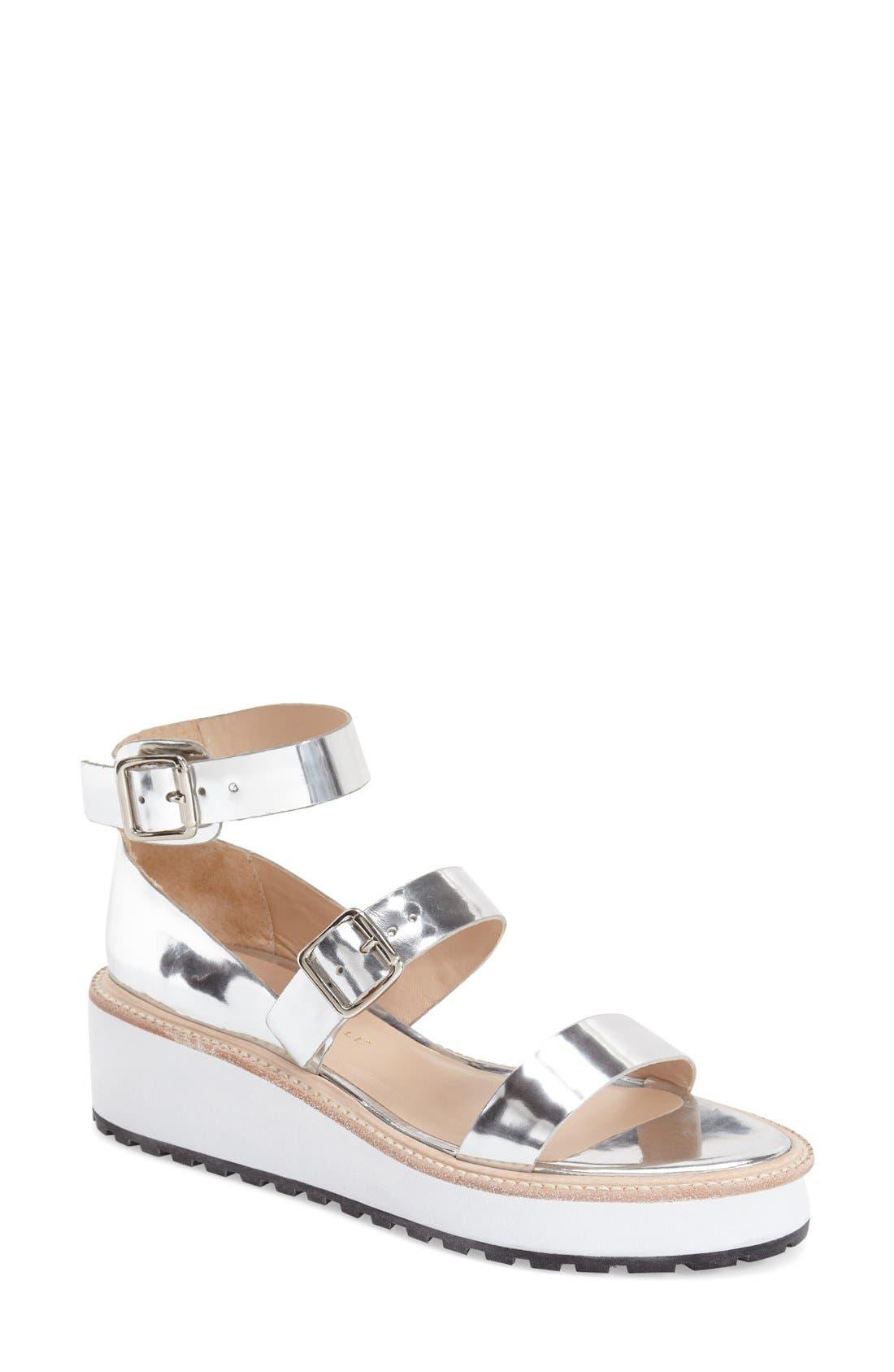Alternate Image 1 Selected - Loeffler Randall 'Pia' Platform Wedge Sandal (Women)