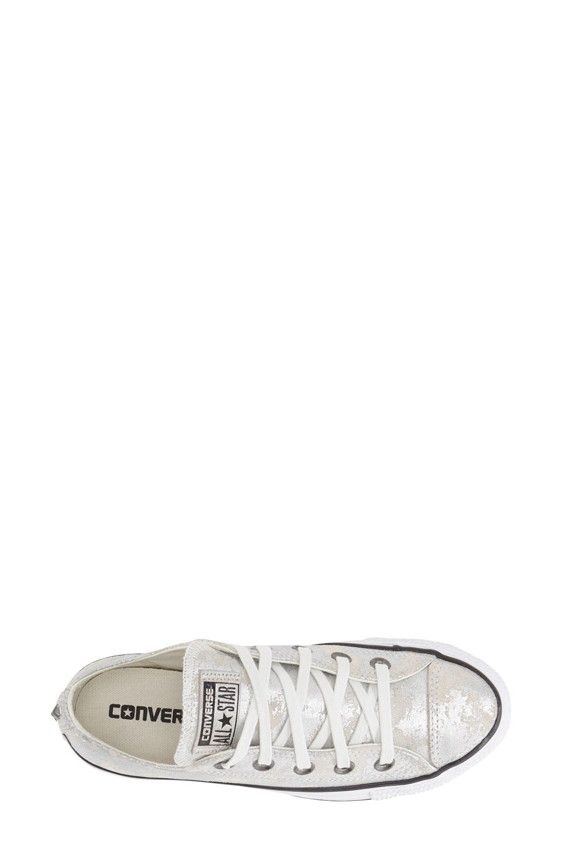Alternate Image 3  - Converse Chuck Taylor® All Star® 'Pyramid' Leather Sneaker (Women)