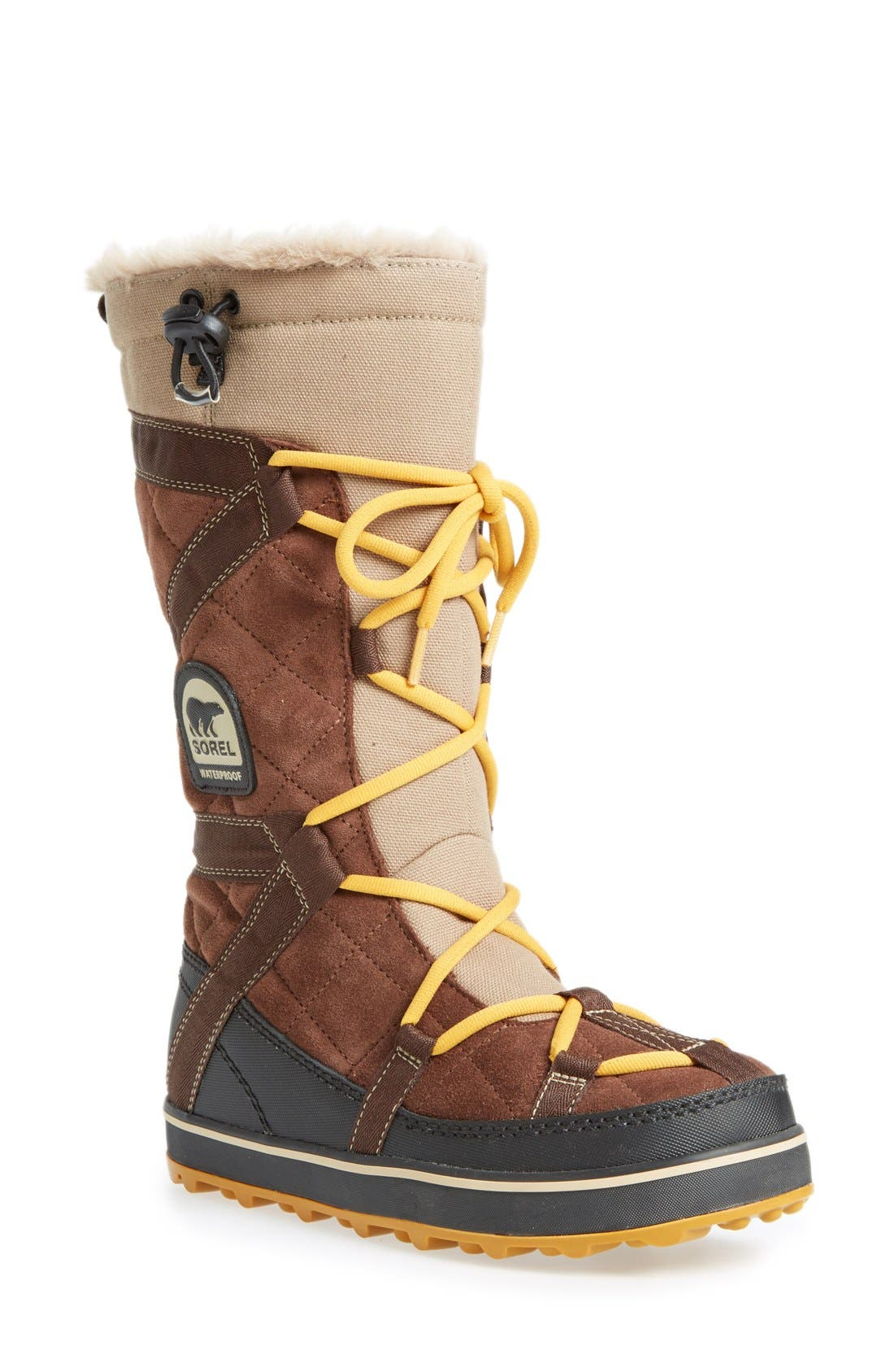 Alternate Image 1 Selected - SOREL 'Glacy™ Explorer' Waterproof Boot