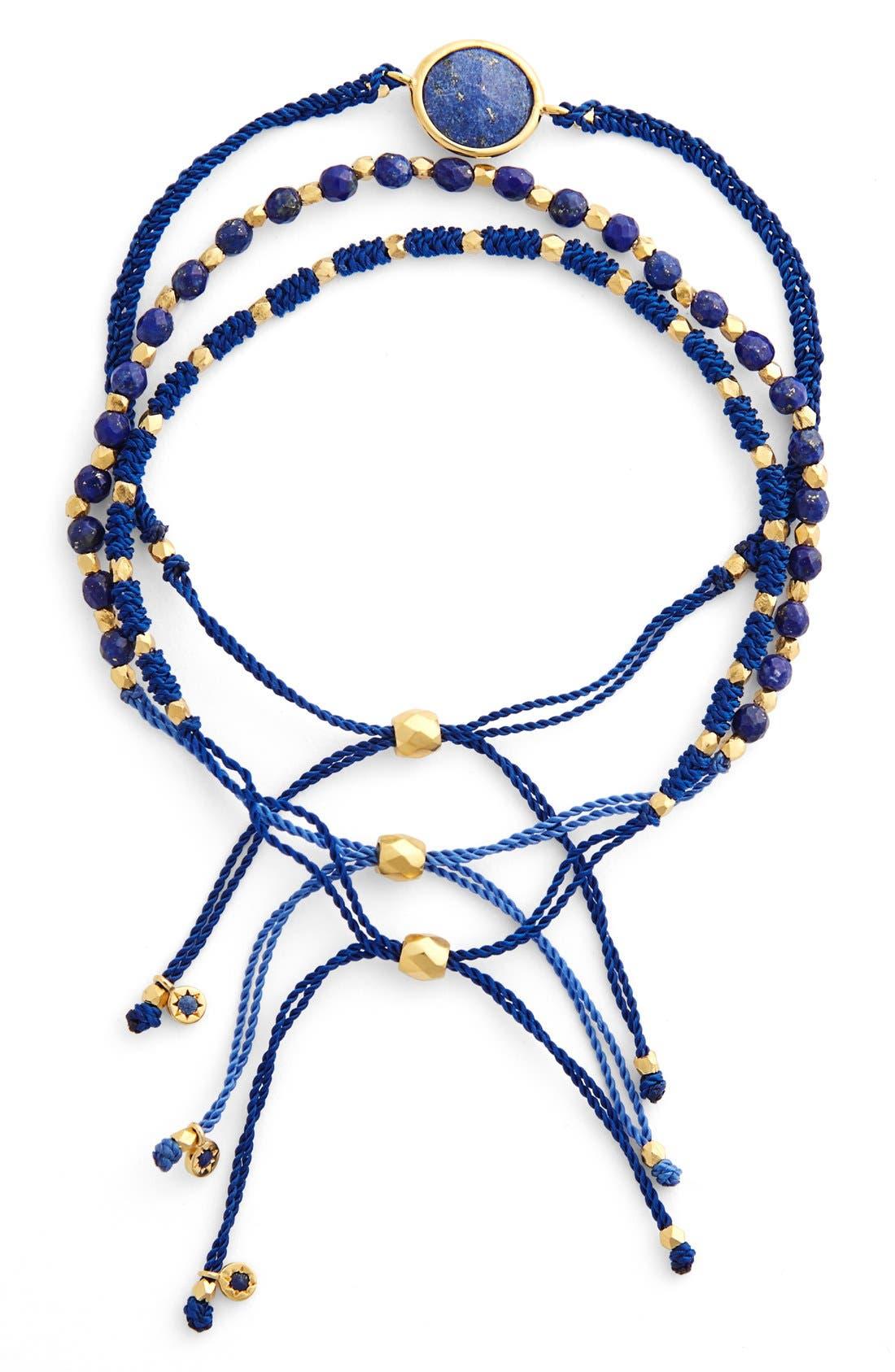 Main Image - Astley Clarke 'Biography' Mixed Media Bracelets (Set of 3)