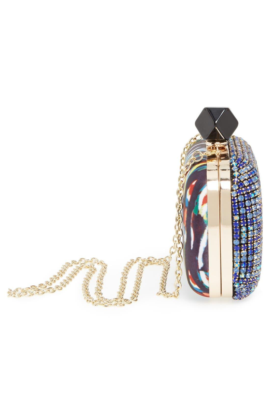 Alternate Image 5  - Natasha Couture Crystal Box Clutch