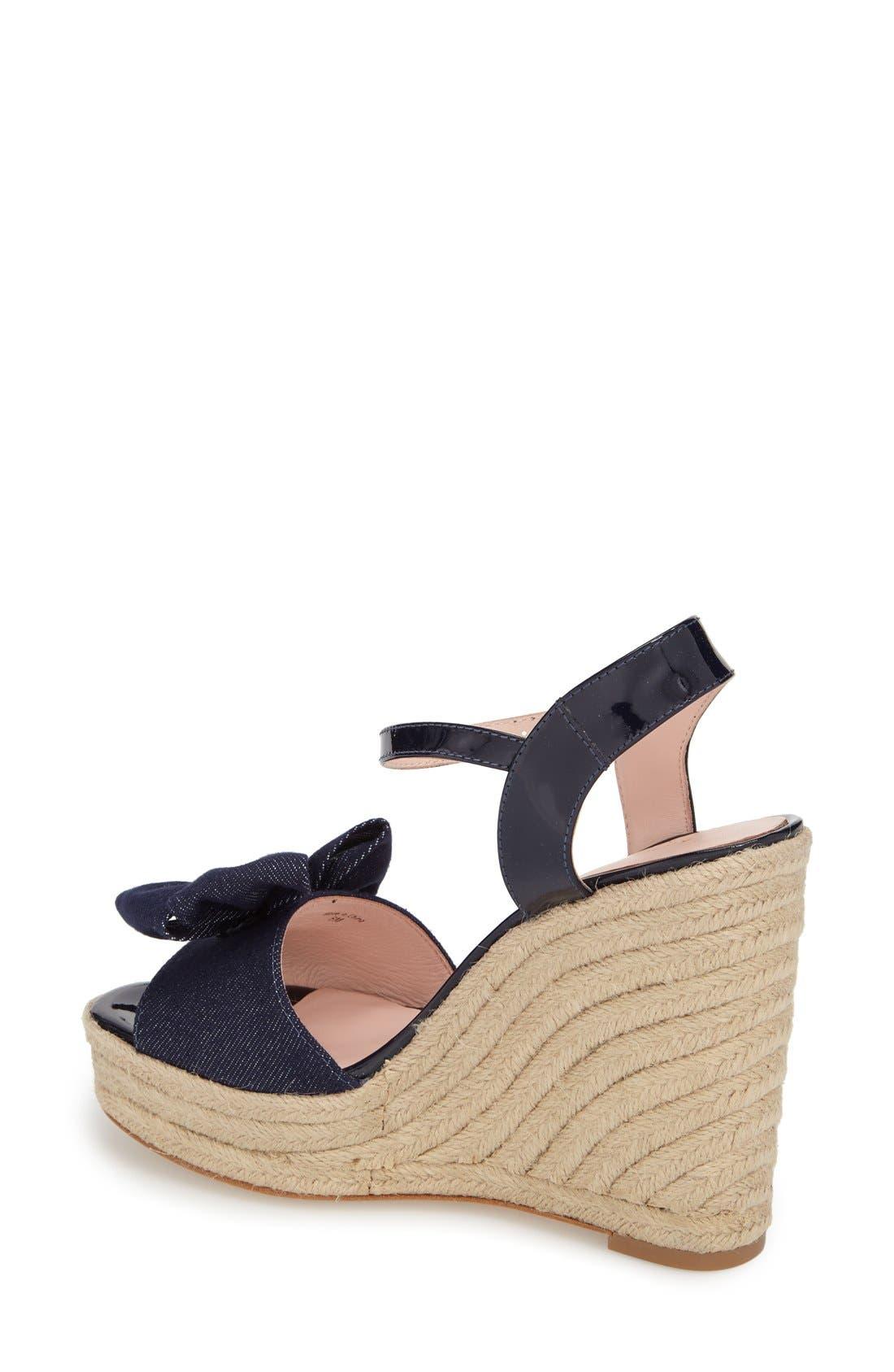 Alternate Image 2  - kate spade new york 'darya' wedge sandal (Women)