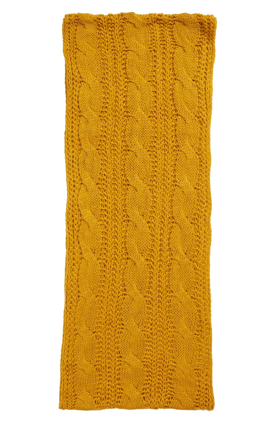 Alternate Image 2  - BP. 'Heritage' Cable Knit Infinity Scarf