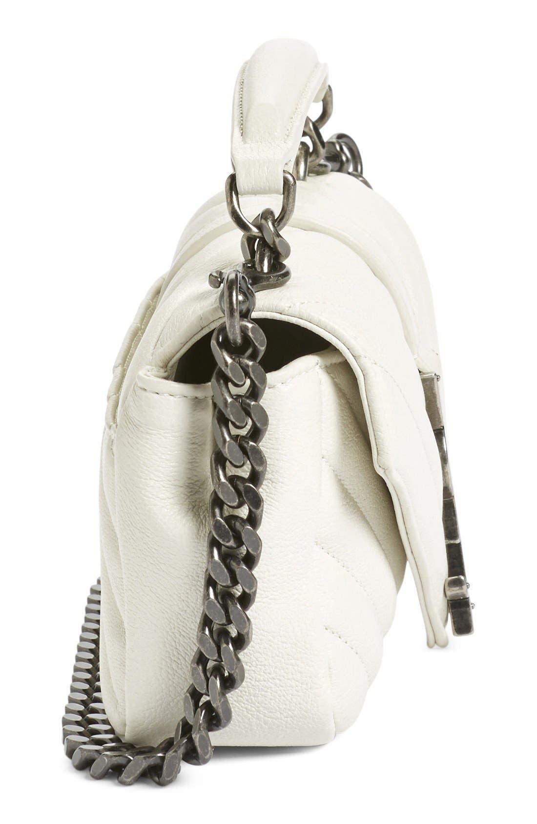 Alternate Image 5  - Saint Laurent 'Monogram' Shoulder Bag