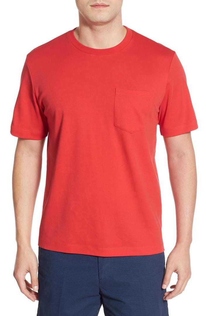 Nordstrom men 39 s shop pima cotton t shirt nordstrom for Shop mens t shirts