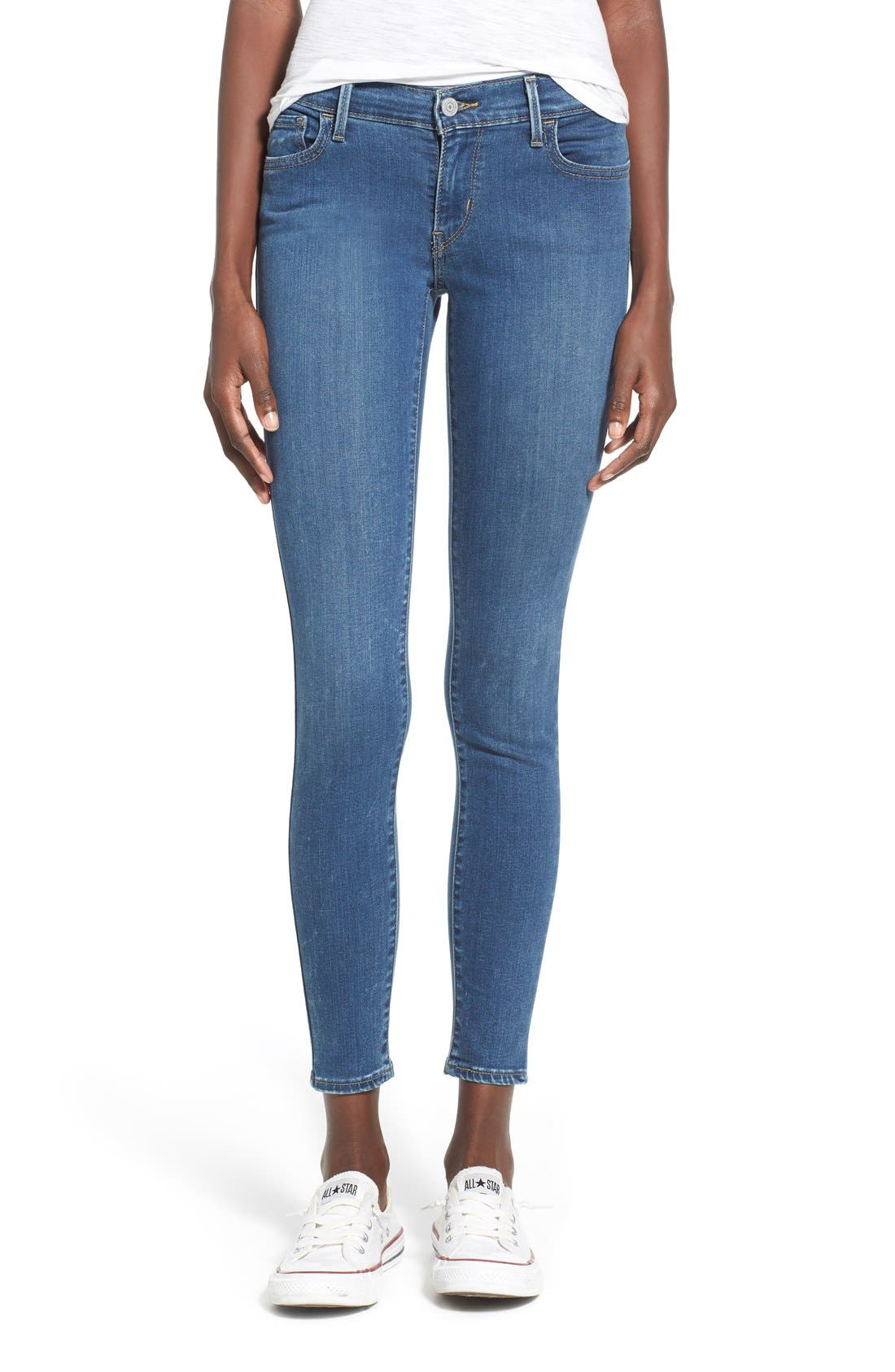 Alternate Image 1 Selected - Levi's® '710' Super Skinny Jeans (Pacific Drive)
