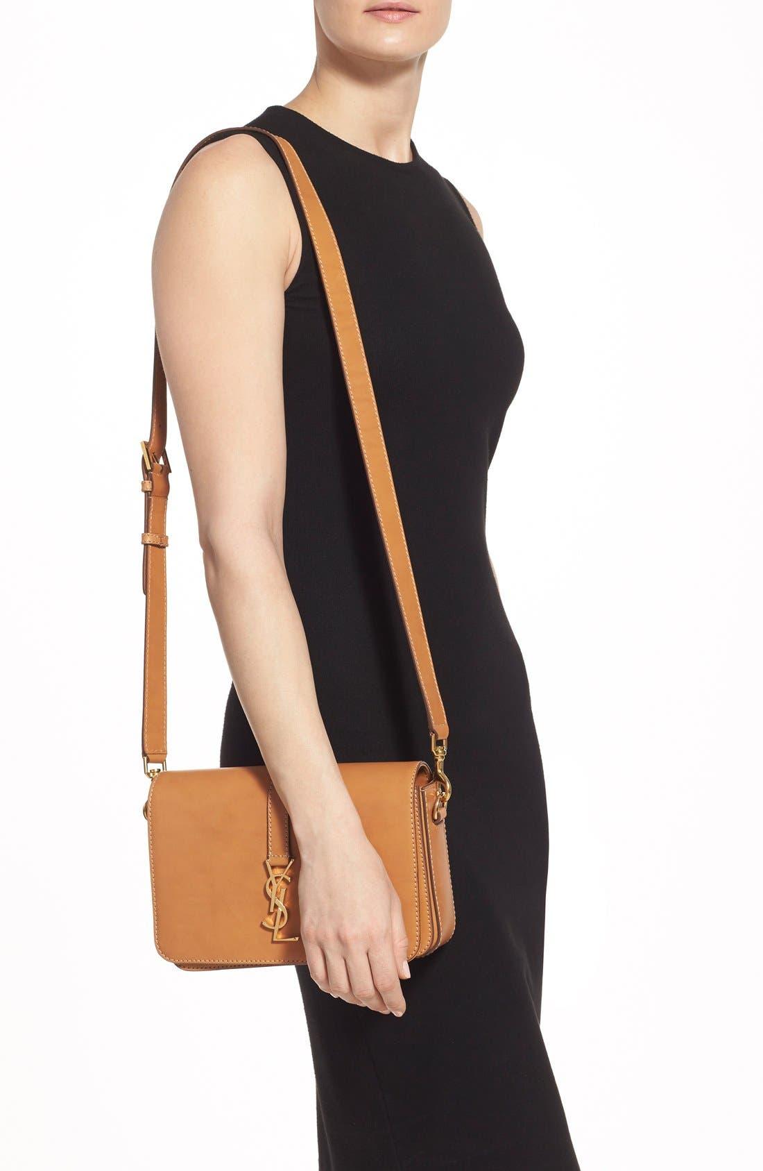 Alternate Image 2  - Saint Laurent 'Medium Monogram' Leather Crossbody Bag