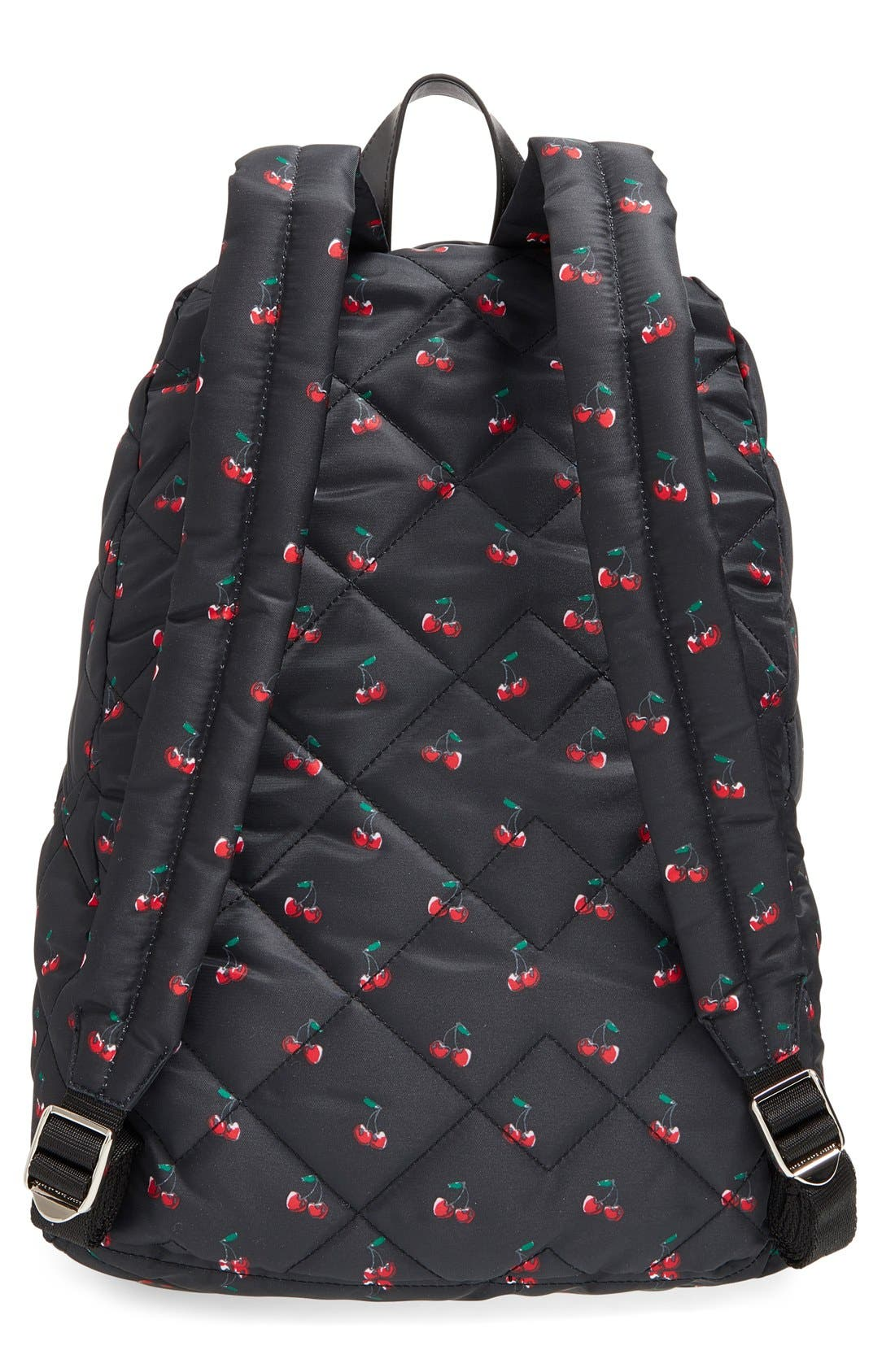 Alternate Image 3  - MARC BY MARC JACOBS 'Crosby' Quilted Fruit Print Backpack