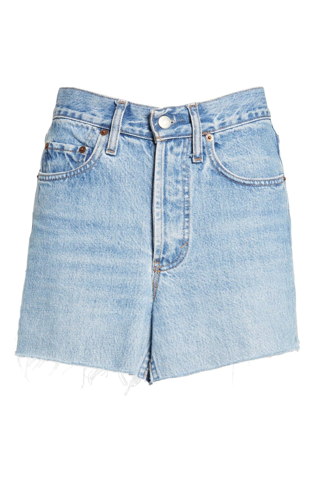 Alternate Image 4  - Vetements Denim Mini Skirt
