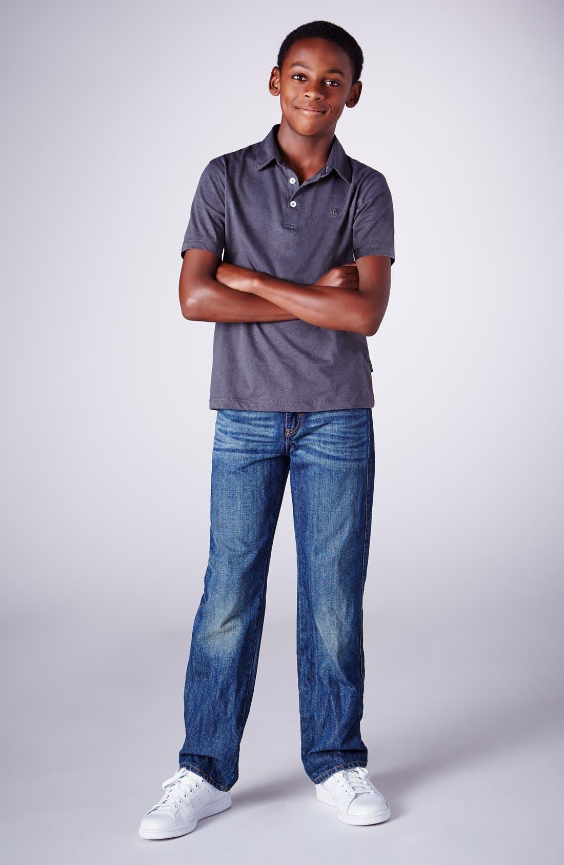 Alternate Image 3  - Tucker + Tate Straight Leg Jeans (Big Boys)