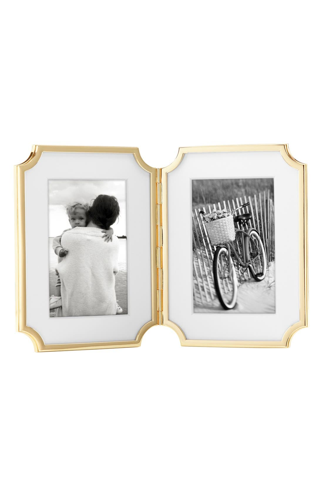 Alternate Image 1 Selected - kate spade new york 'sullivan street' hinged double picture frame