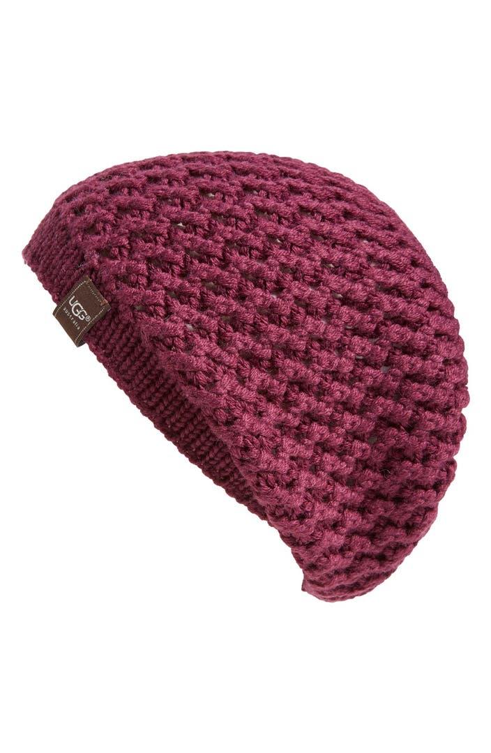 Knitting Websites Australia : Ugg australia sequoia knit beanie nordstrom