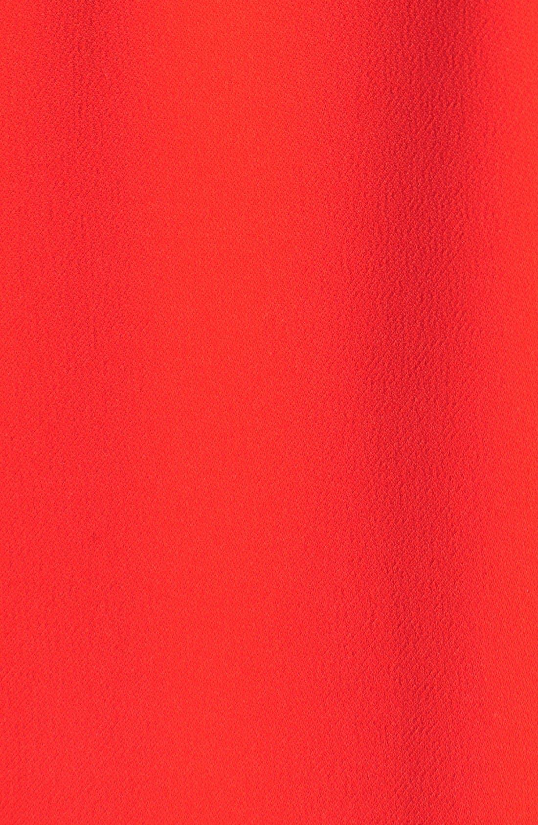 Alternate Image 5  - Amanda Uprichard Stretch Crepe A-Line Dress