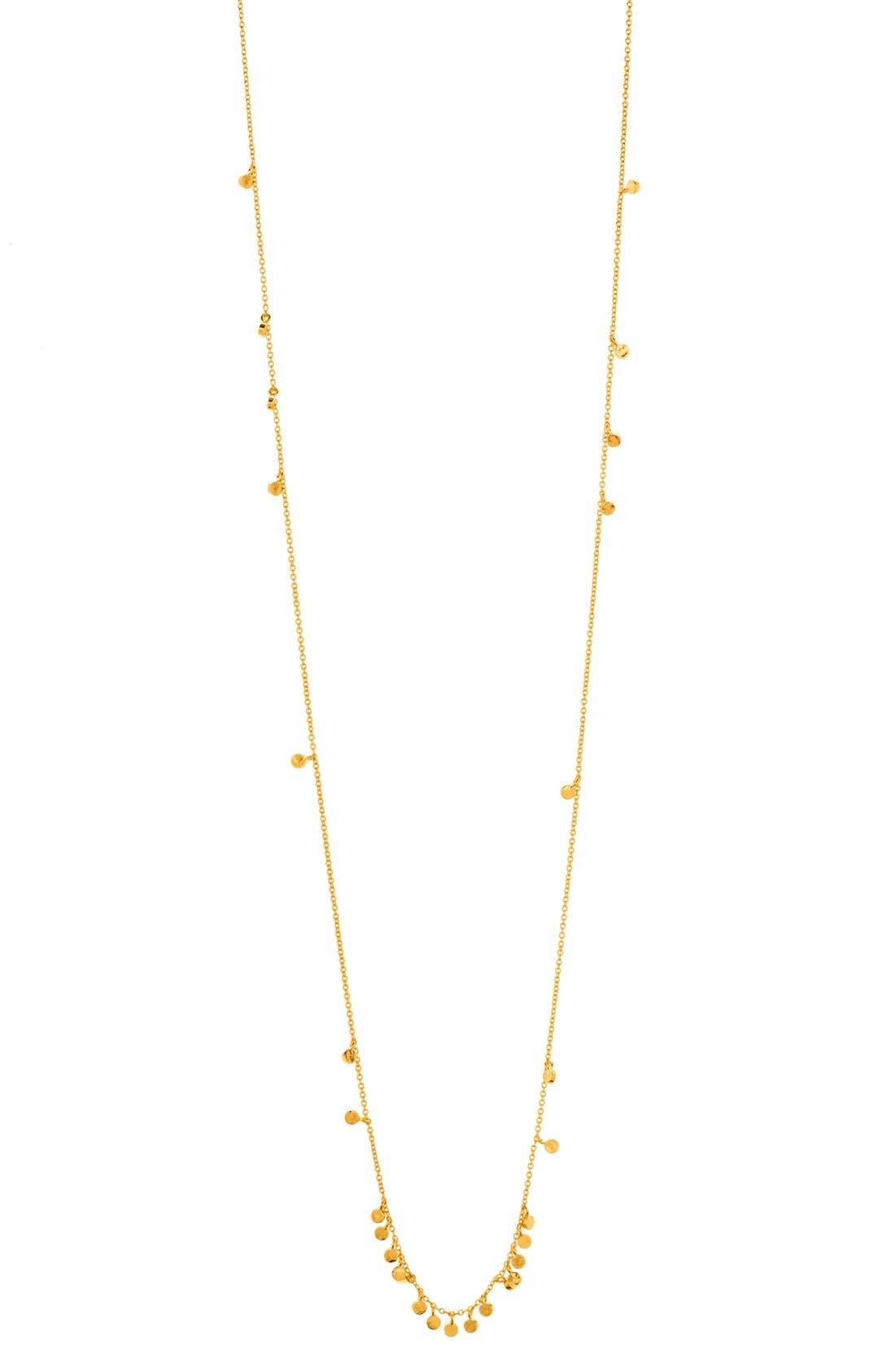 Alternate Image 1 Selected - gorjana 'Chloe' Mini Long Necklace