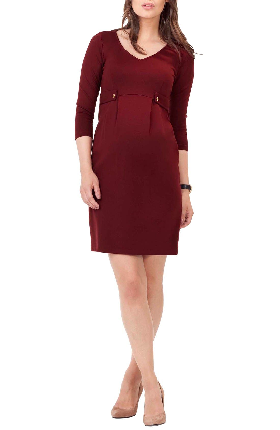 Alternate Image 1 Selected - Isabella Oliver Marlow Maternity Dress