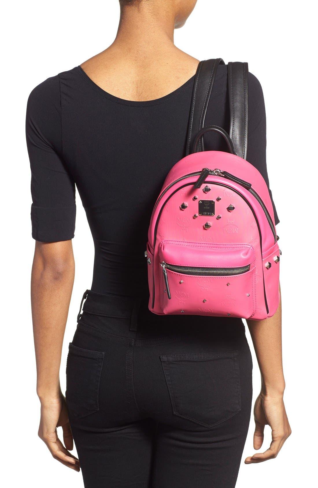 Alternate Image 2  - MCM 'Mini Stark Odeon' Studded Backpack