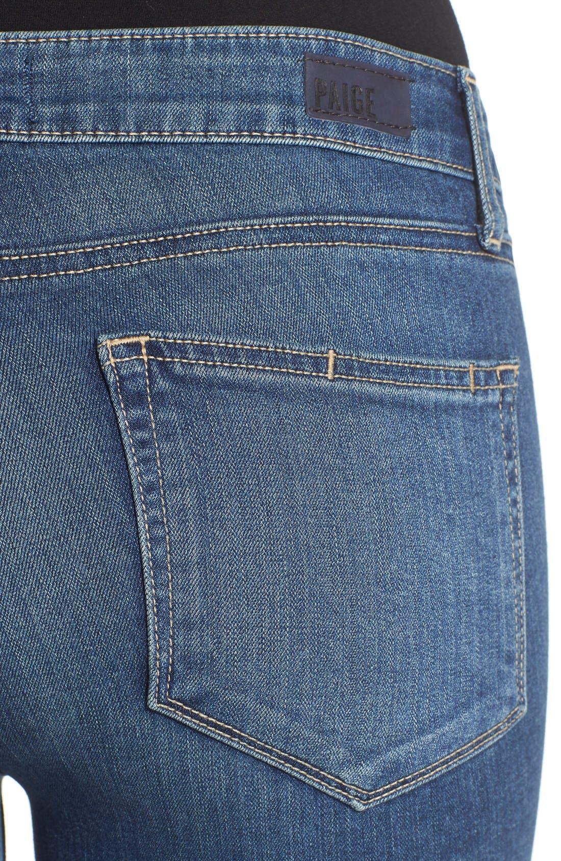 Alternate Image 4  - Paige Denim 'Transcend - Verdugo' Crop Jeans (Nadeen)