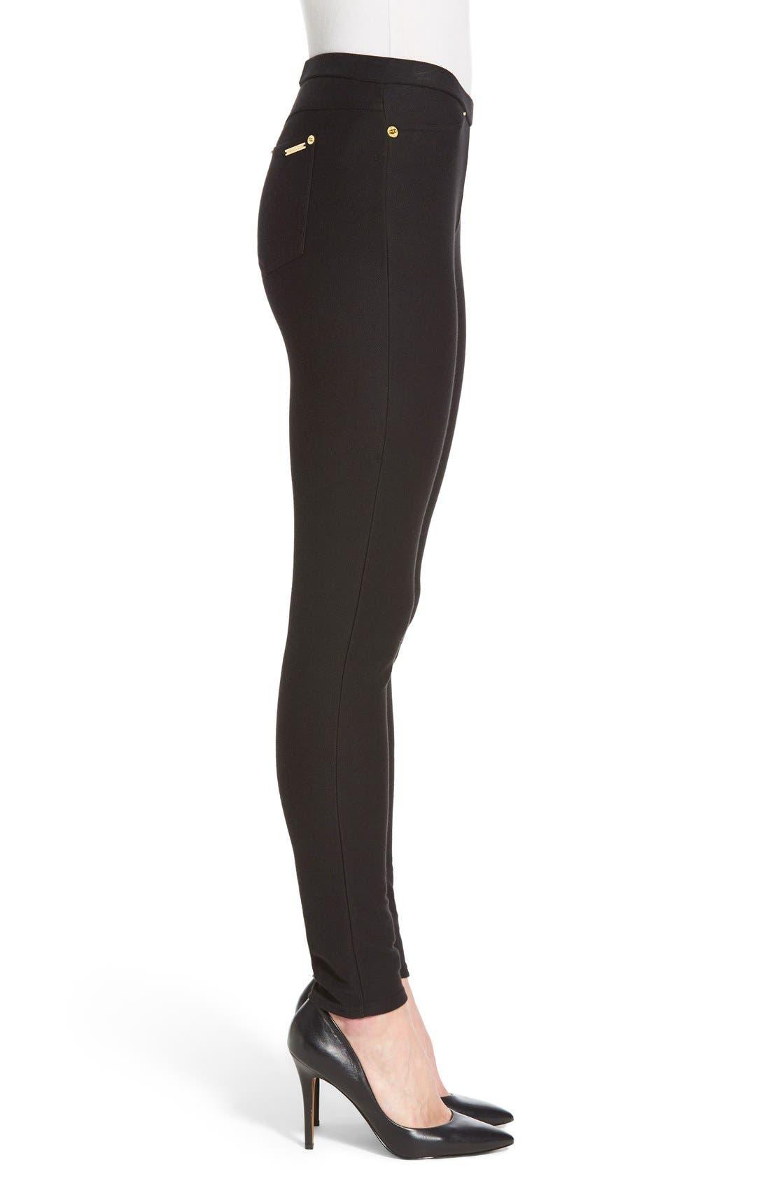 Alternate Image 3  - MICHAEL Michael Kors Stretch Twill Leggings