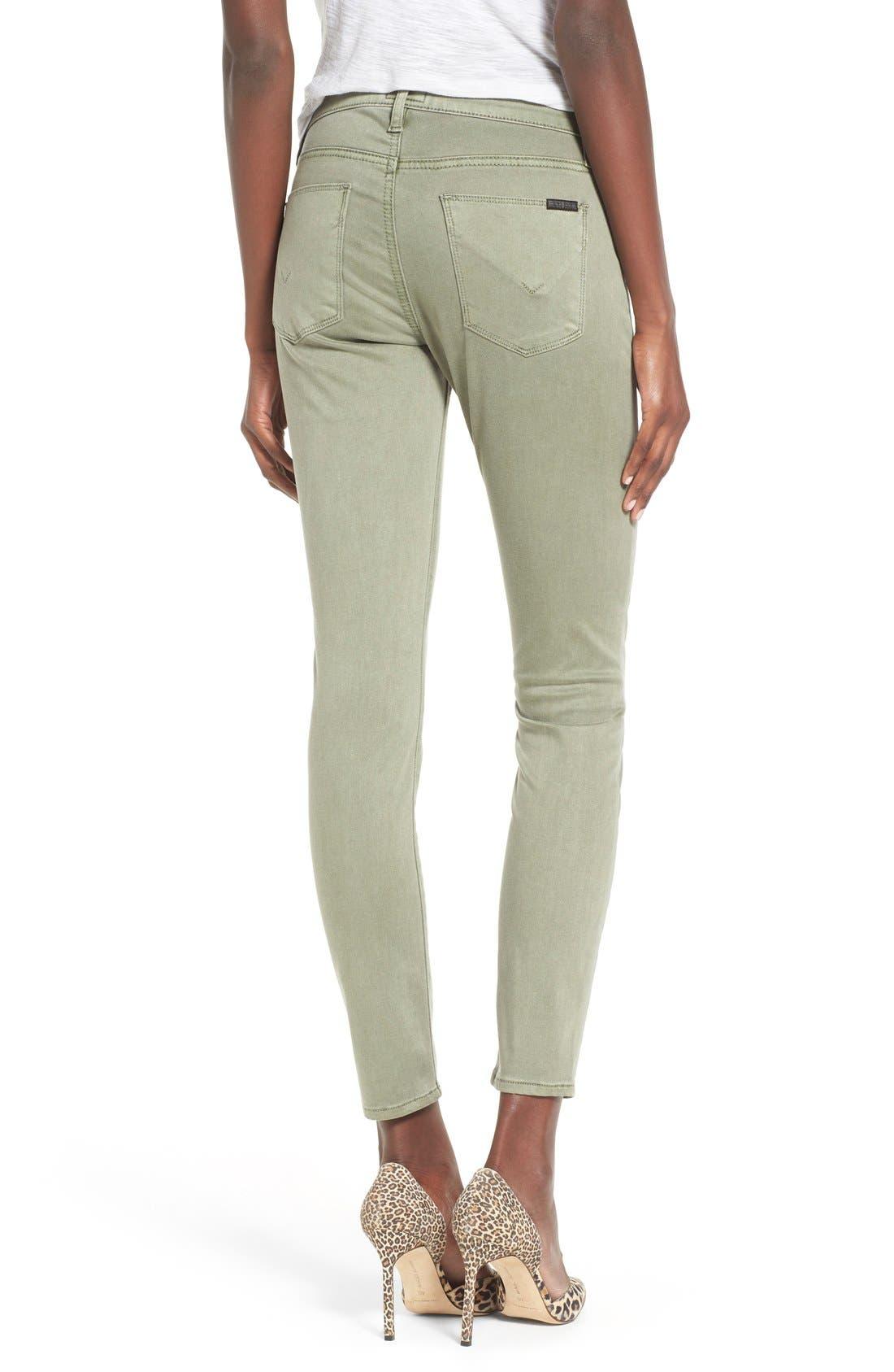 Alternate Image 2  - Hudson Jeans 'Nico' Ankle Super Skinny Jeans (Earth Works)