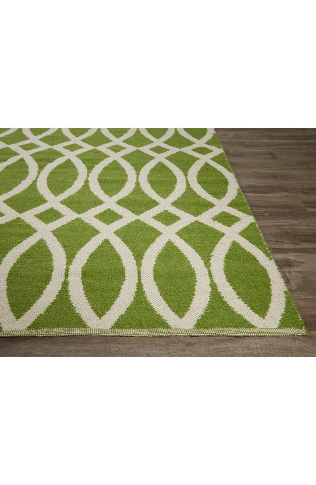 Alternate Image 3  - kate spade new york 'roosevelt' hand woven reversible wool & cotton rug