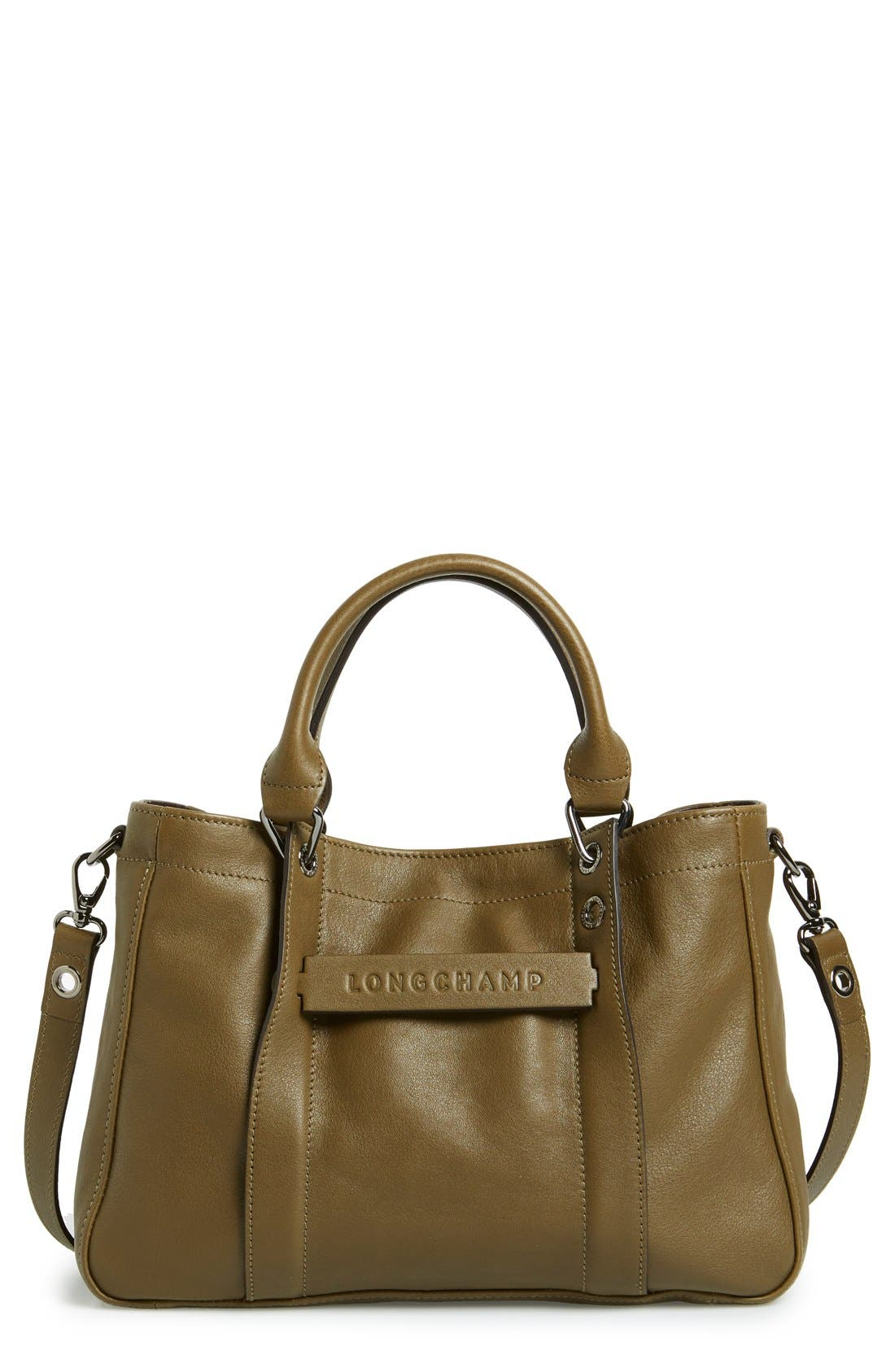 Alternate Image 1 Selected - Longchamp 'Small 3D' Leather Tote