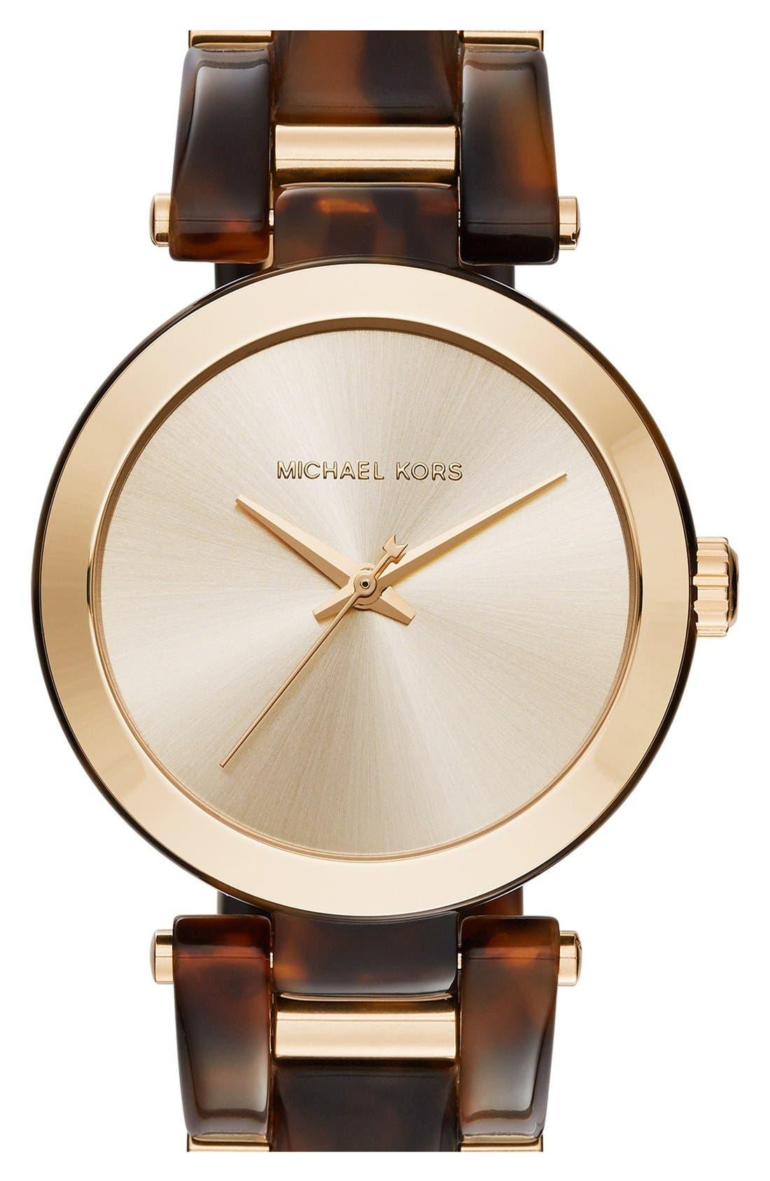 Alternate Image 1 Selected - MICHAEL Michael Kors 'Delray' Bracelet Watch, 36mm