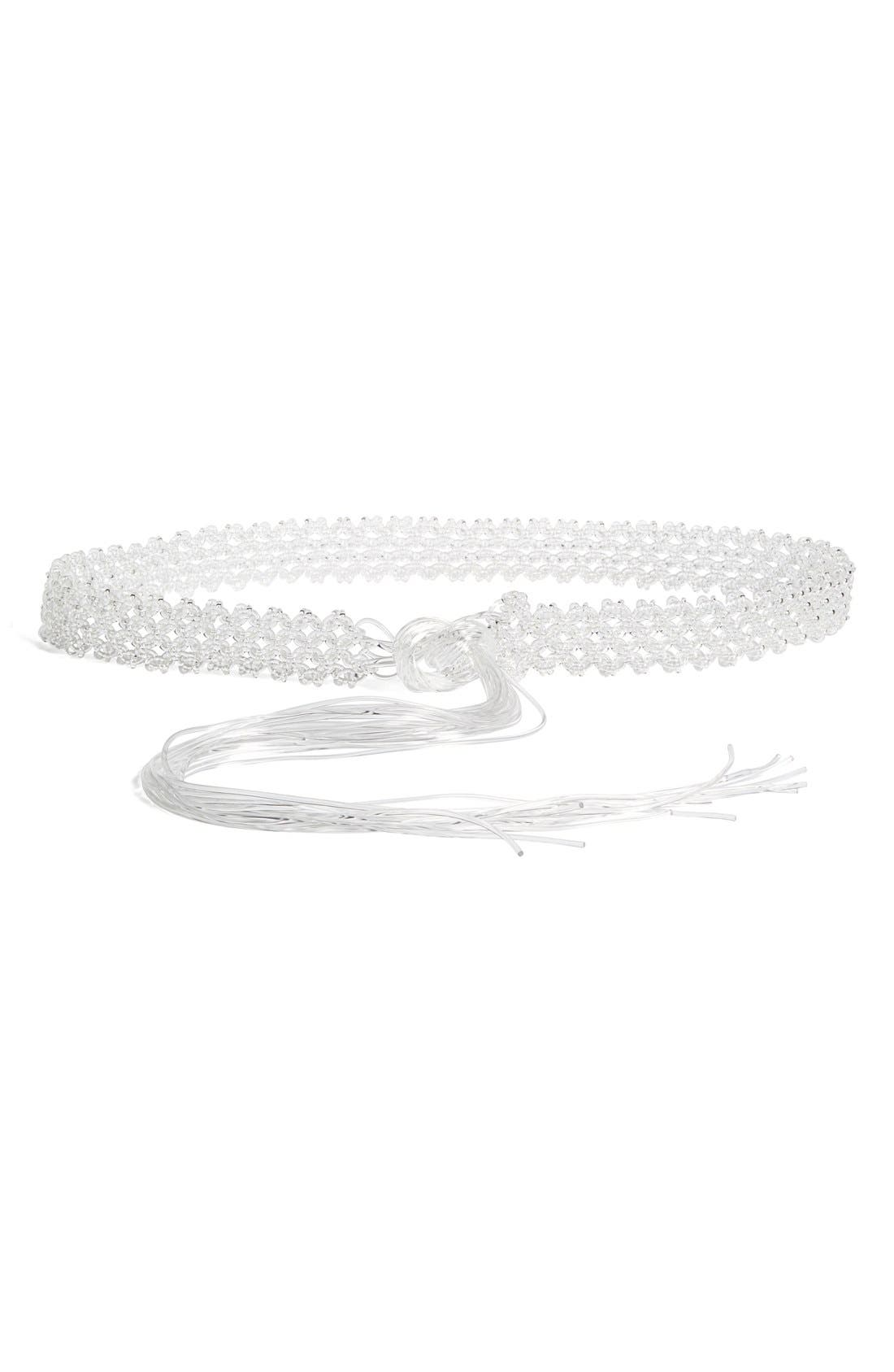 Alternate Image 1 Selected - Simone Rocha Jelly Cord Belt