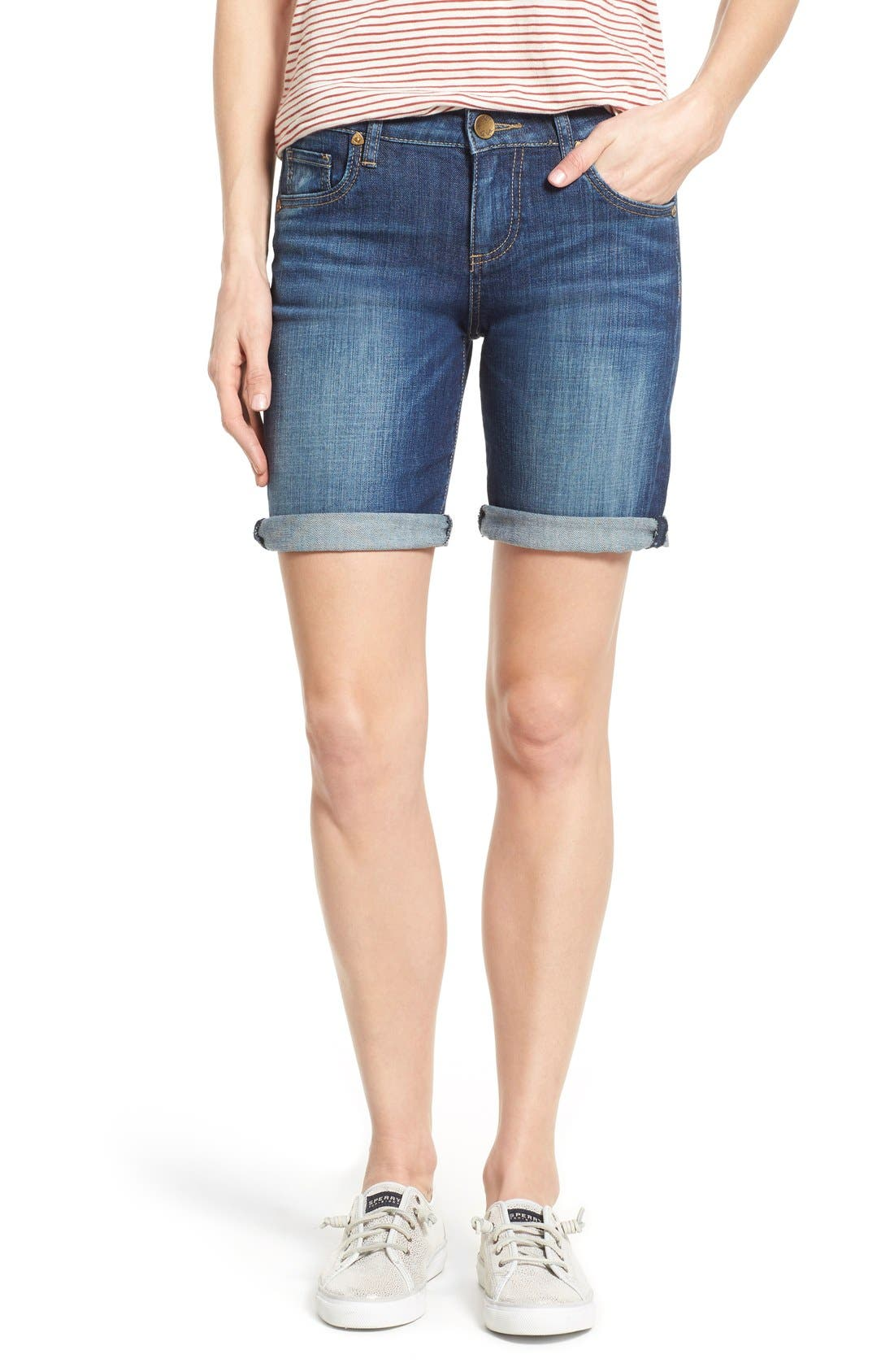 KUT from the Kloth 'Catherine' Boyfriend Shorts (Tact)