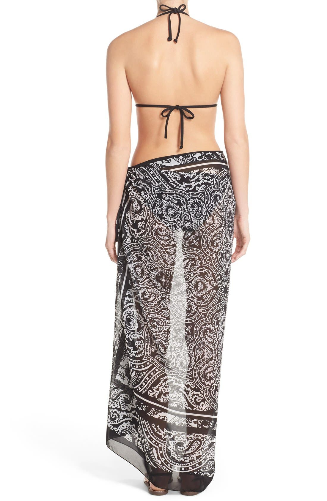 Alternate Image 2  - Profile by Gottex 'Madeira Pareo' Wrap Skirt