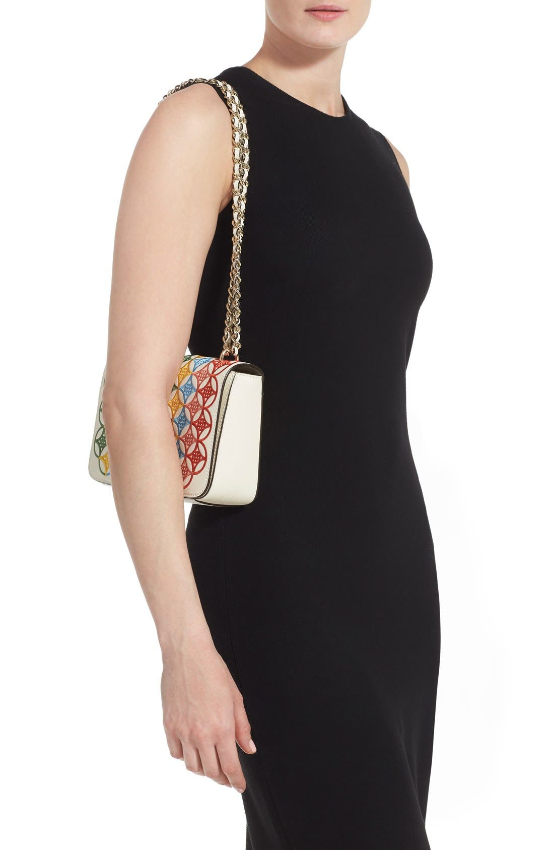 Alternate Image 2  - Tory Burch 'Robinson' Embroidered Shoulder Bag