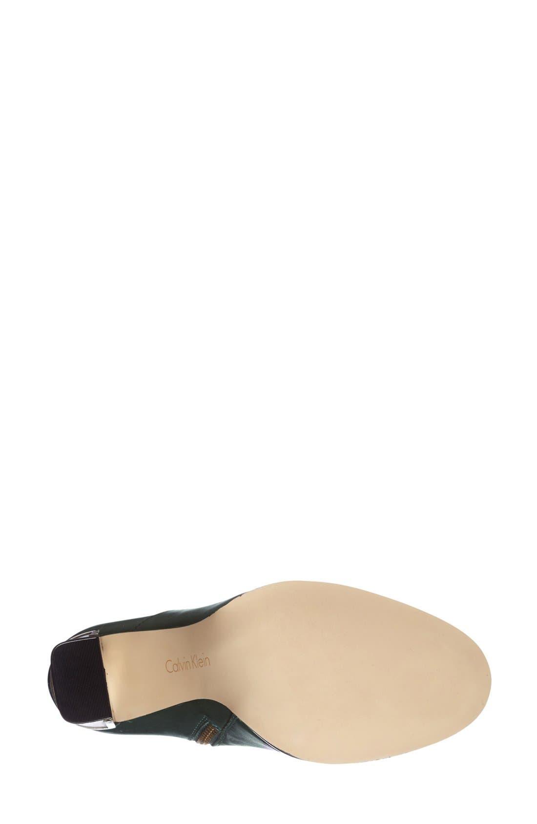Alternate Image 4  - Calvin Klein 'Karlia' Ankle Bootie(Women)