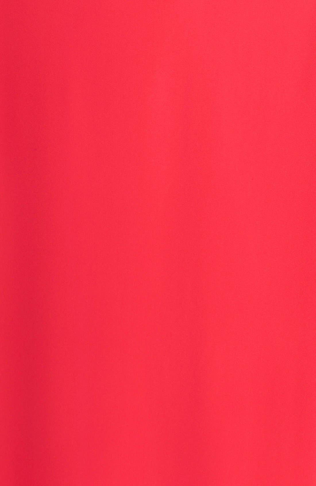 Alternate Image 6  - Chelsea28 Bell Sleeve Chiffon A-Line Dress