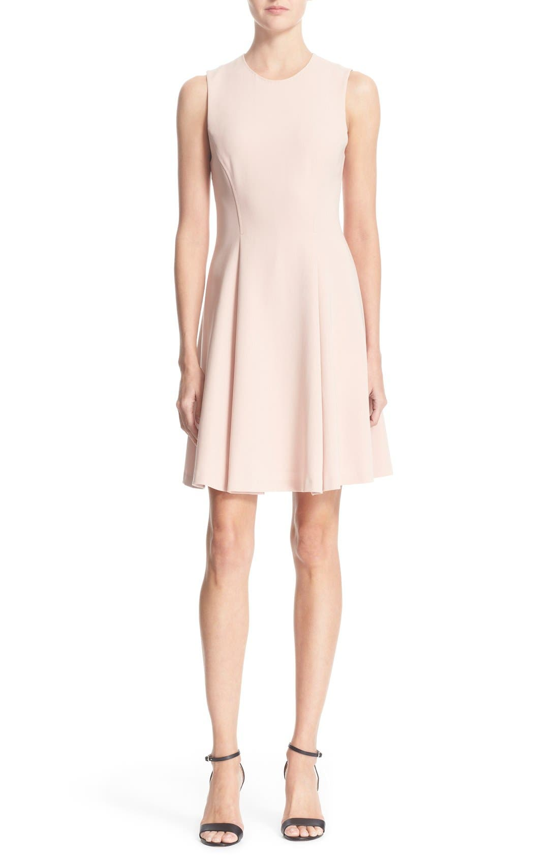 Alternate Image 1 Selected - Theory 'Tespa' Crepe Fit & Flare Dress
