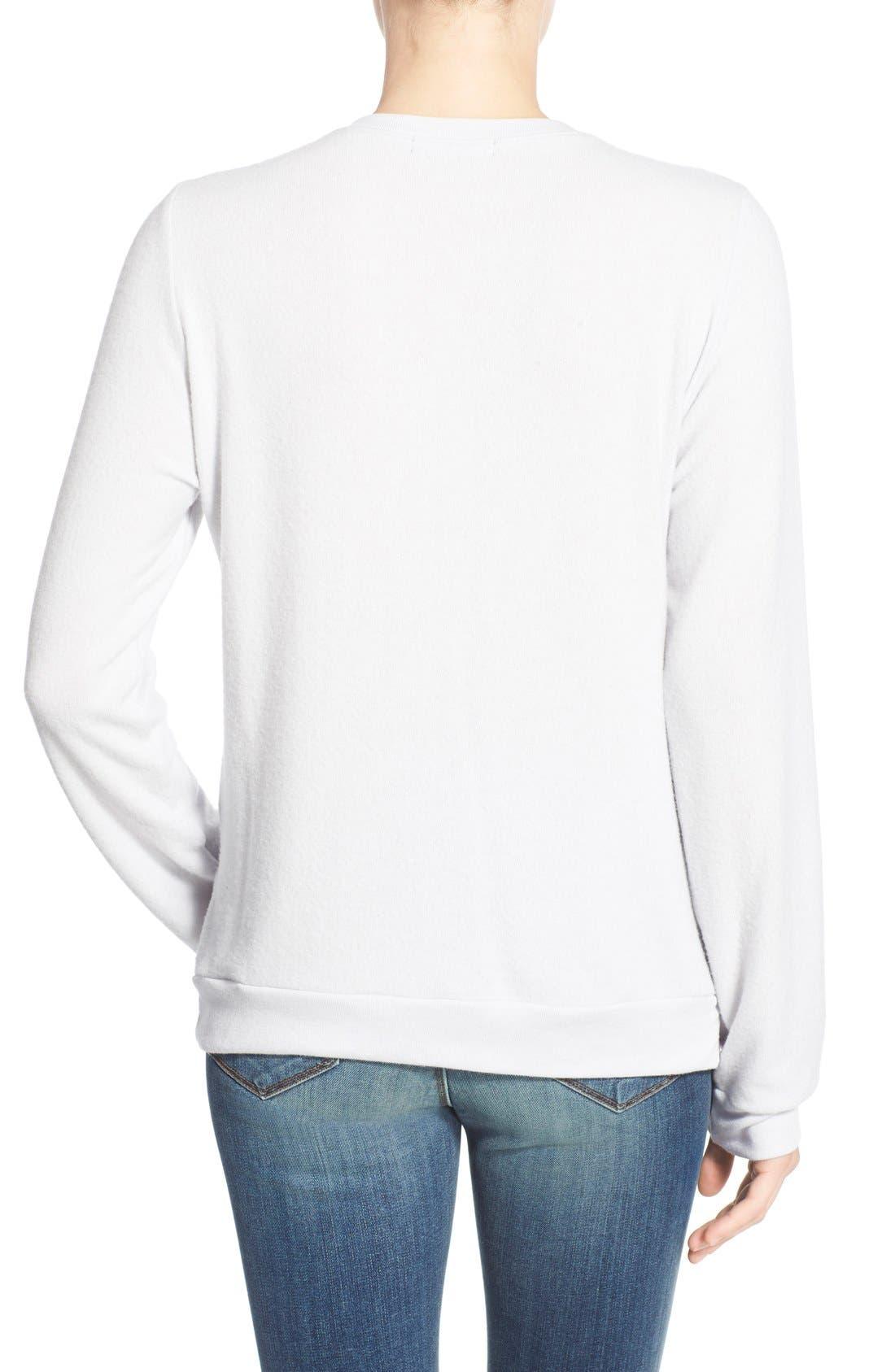 Alternate Image 2  - Signorelli 'Yummy Fleece' Graphic Sweatshirt