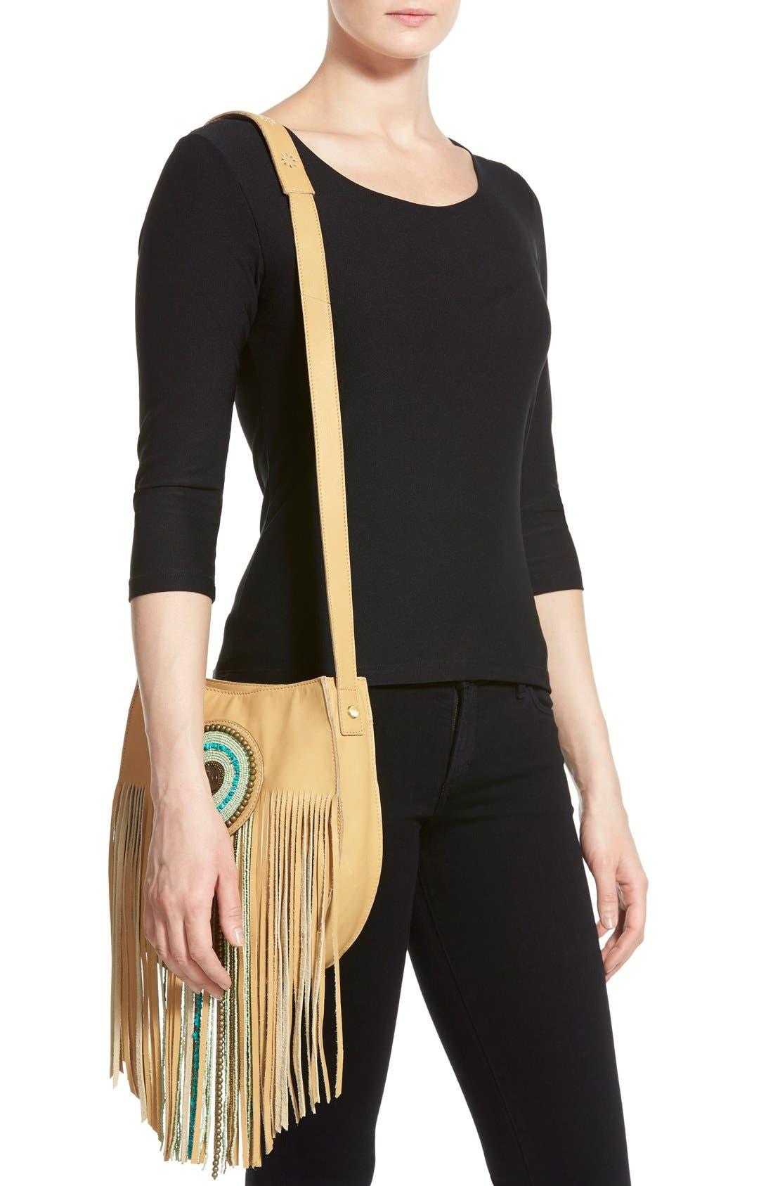 Alternate Image 3  - Sam Edelman 'Karina' Fringe Leather Shoulder Bag