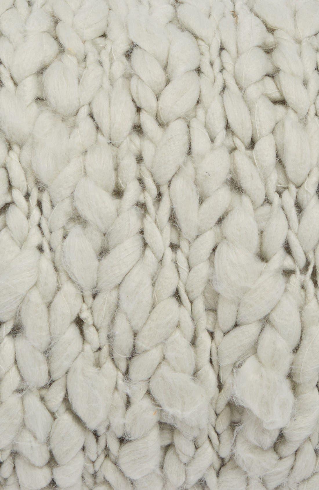 Alternate Image 3  - Beekman 1802 'Minetto' Knit Pillow
