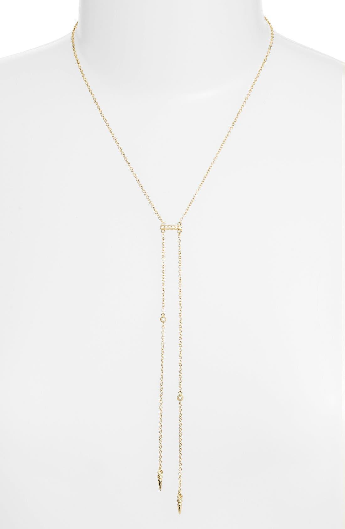 ETTIKA Double Hang Y-Necklace