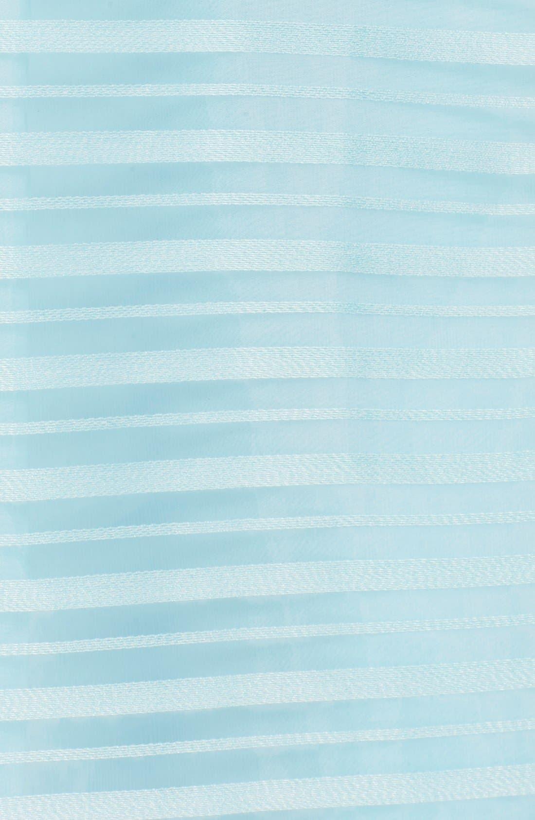 Alternate Image 6  - Halson Heritage Shadow Stripe Organza Dress