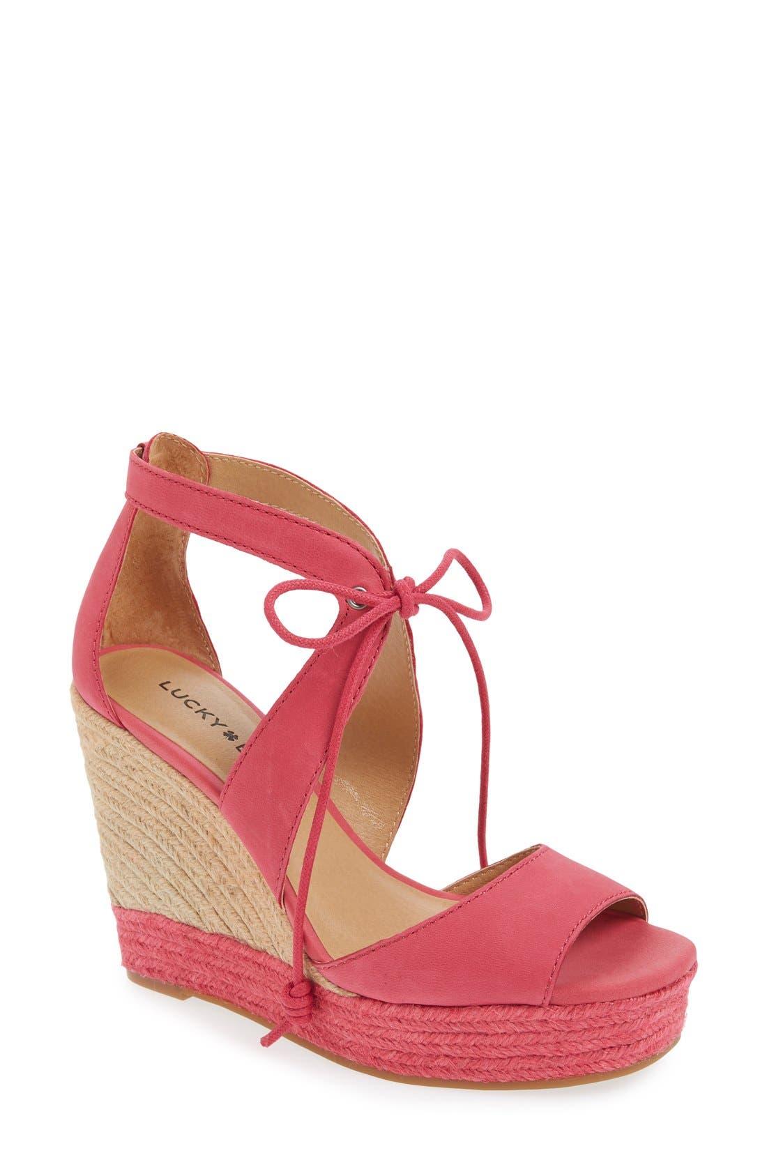 Alternate Image 1 Selected - Lucky Brand 'Listalia' Sandal (Women)