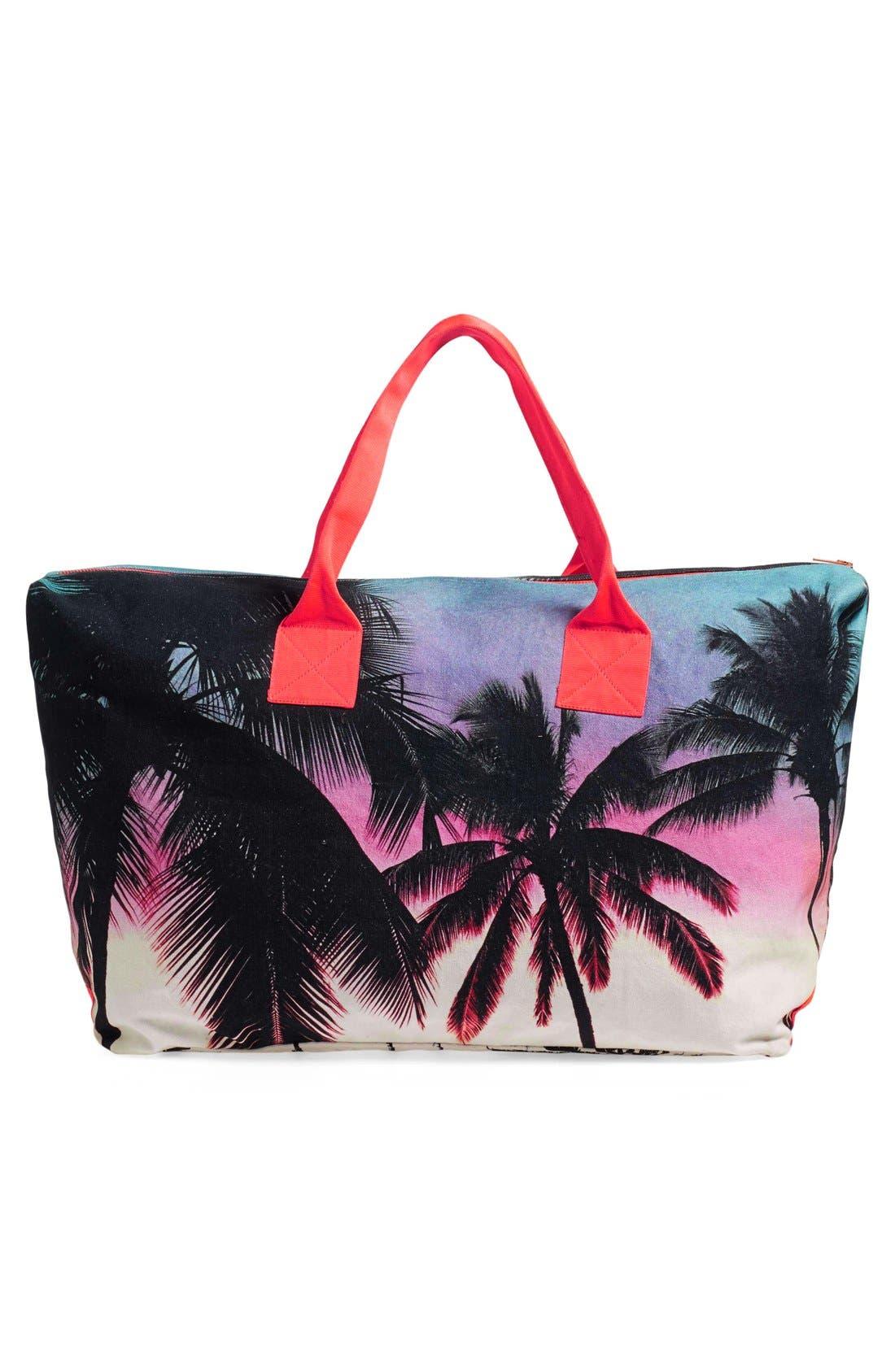 Alternate Image 2  - Samudra 'Makaha Sunset' Canvas Weekend Bag