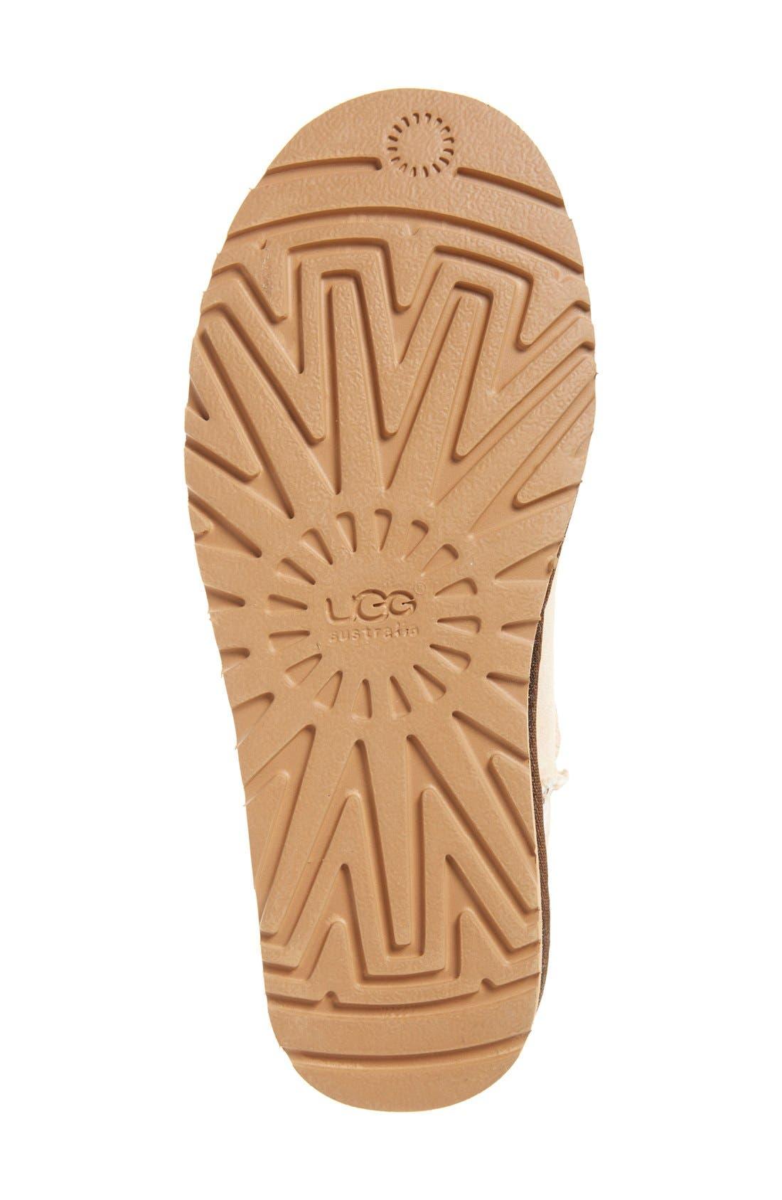 Alternate Image 4  - UGG® 'Classic Mini Serape' Genuine Shearling Lined Boot (Women)