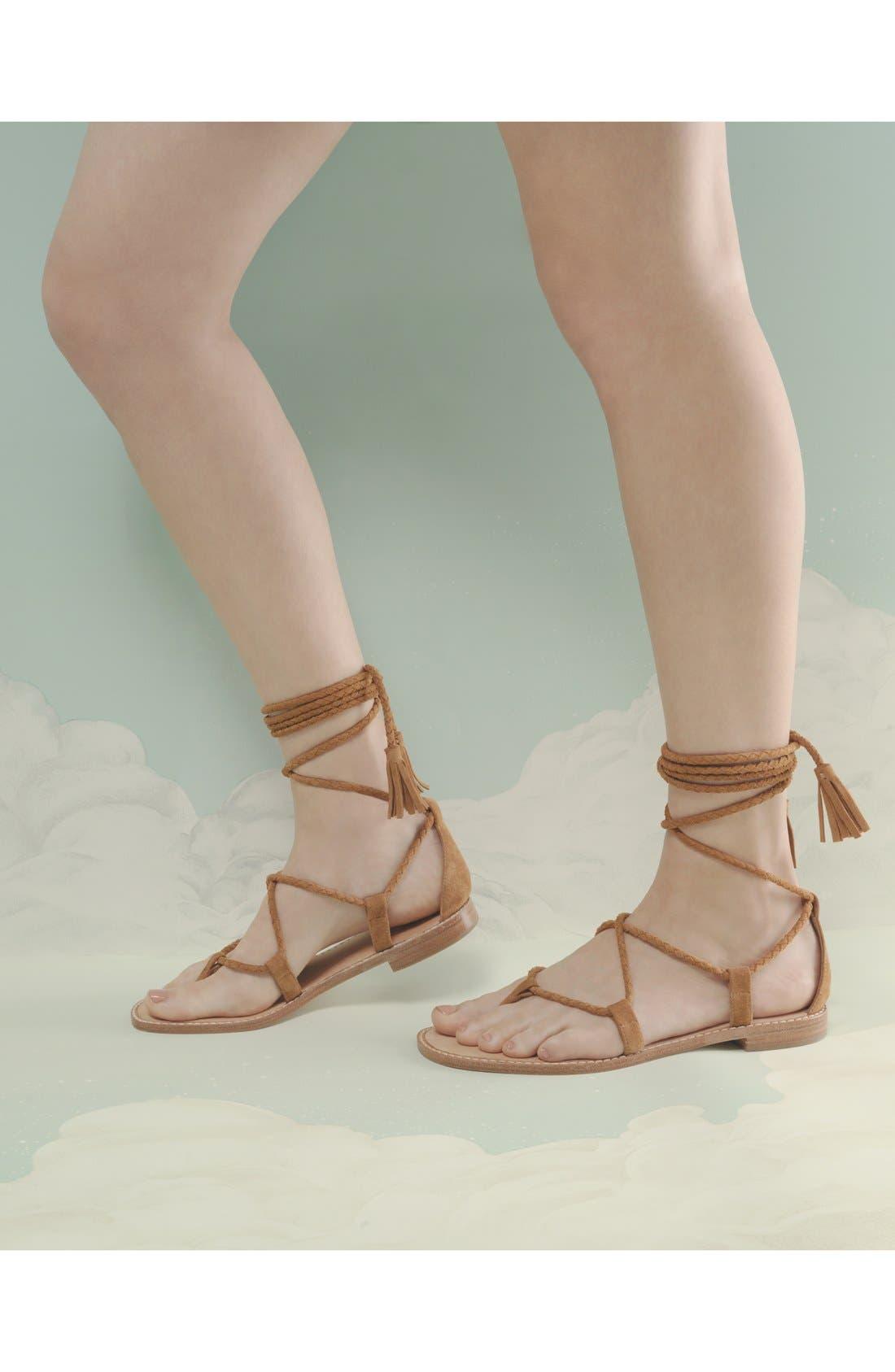 Alternate Image 5  - Joie 'Bailee' Lace-Up Sandal (Women)