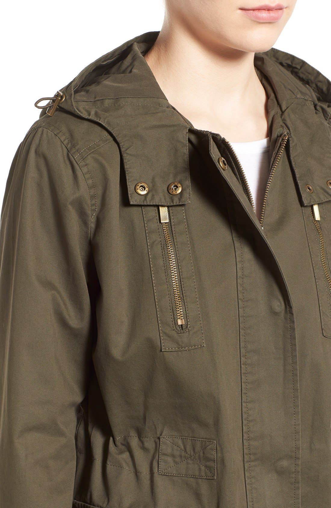 Alternate Image 4  - French Connection Relaxed Cotton Utility Jacket