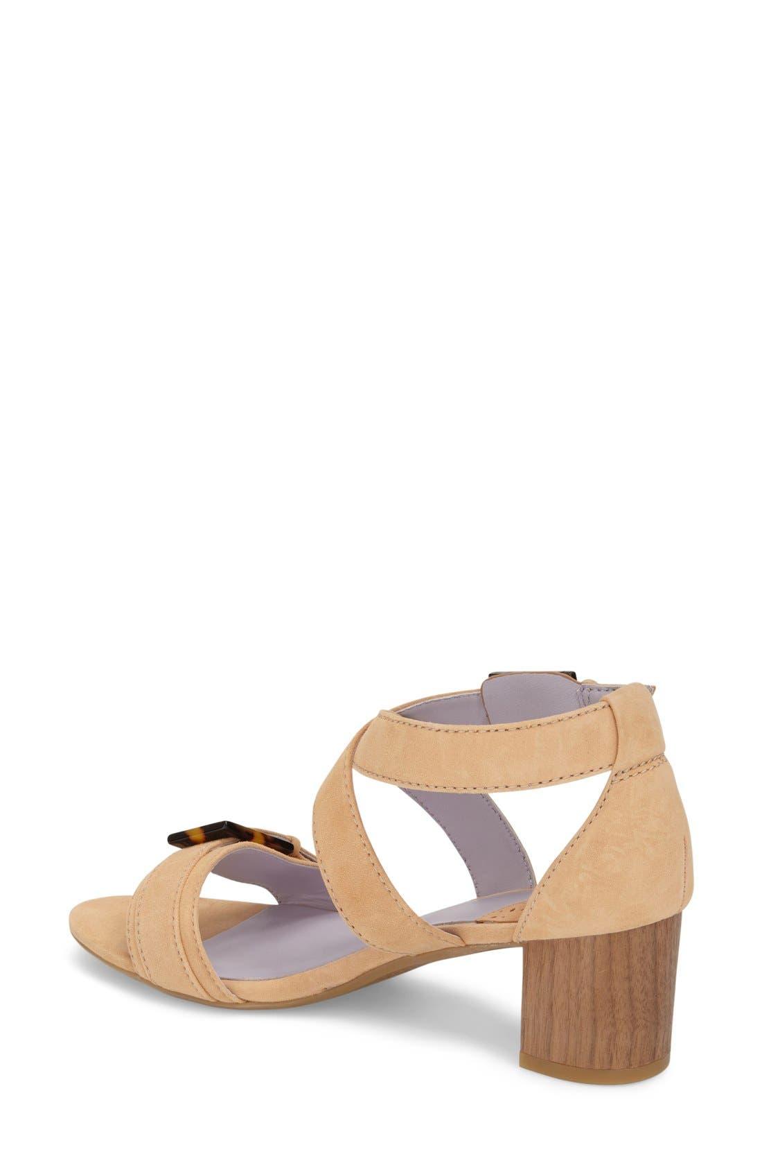 Alternate Image 2  - Johnston & Murphy 'Katarina' Block Heel Sandal (Women)